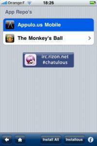 """Menu """"Apps Repo's"""""""