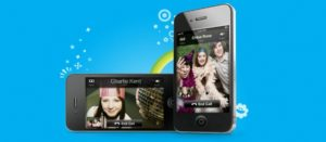 Skype iphone video appel